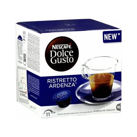 CAFE DOLCE GUSTO NESCAFE RISTRETTO ARDENZA BOITE 16 CAPSULES - 112gr