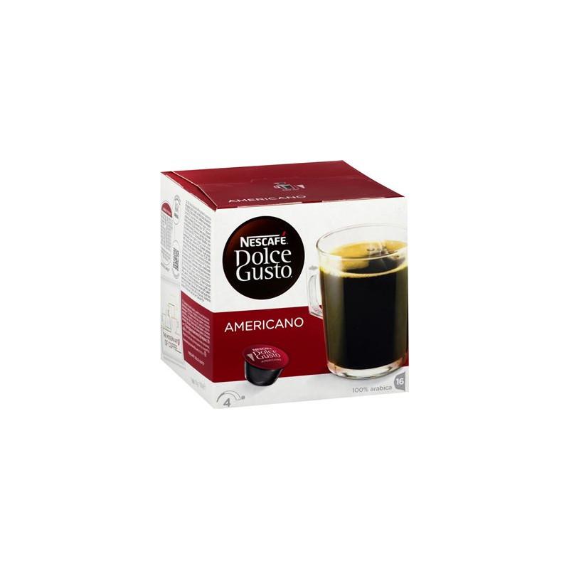 CAFE DOLCE GUSTO NESCAFE 4 AMERICANO BOITE 16 CAPSULES - 160gr