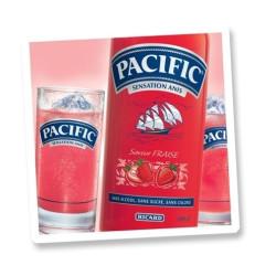 PACIFIC FRAISE 0,7 litre SANS ALCOOL