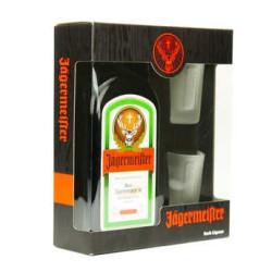 COFFRET JAGERMEISTER AVEC 2 VERRES