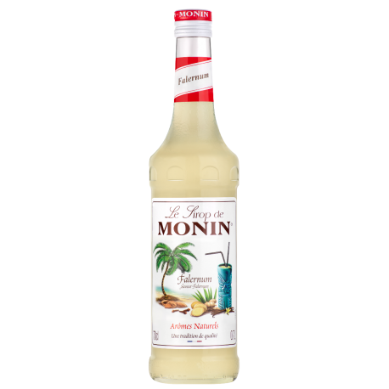 SIROP MONIN FALERNUM (zeste de citron vert,amande et épice) 0,7 litre