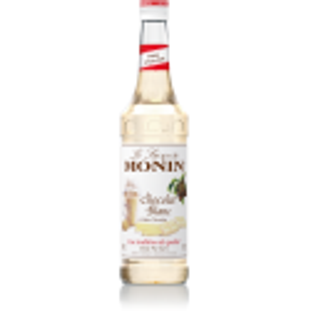 SIROP MONIN CHOCOLAT BLANC 0,7 litre