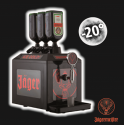 TAP MACHINE JAGERMEISTER 3 BOUTEILLES + 6 BOUTEILLES 70CL