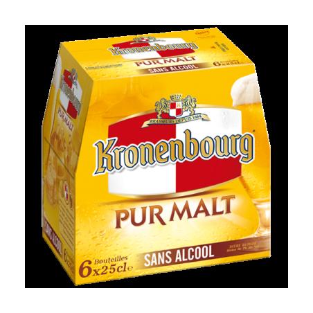KRONENBOURG pur malt pack 6x25cl