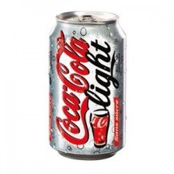 COCA COLA LIGHT 33 cl BOITE METAL