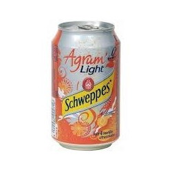 SCHWEPPES AGRUM LIGHT 33cl BOITE METAL