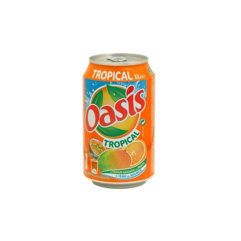 OASIS tropical 33 cl boite métal