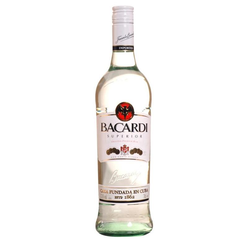 BACARDI supérior rum 70 cl 37.5°