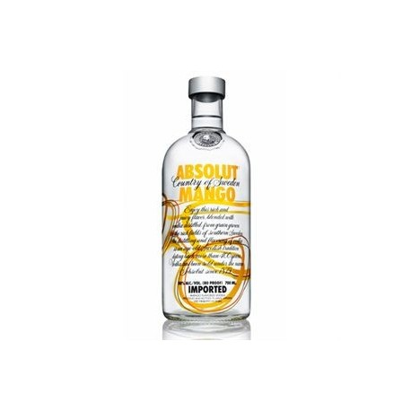 ABSOLUT MANGO vodka mangue 0.7L 40°