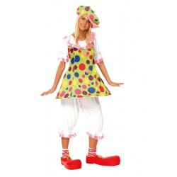 COSTUME CLOWN FIESTA TAILLE M