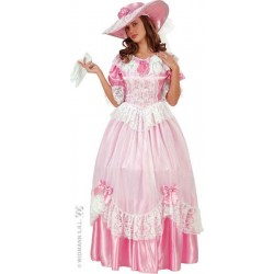 COSTUME PRINCESSE ROSE LUXE