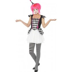 COSTUME ARLEQUINE TAILLE 13/15 ANS