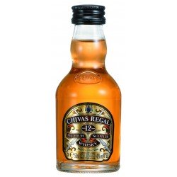 WHISKY CHIVAS REGAL 12 ANS 5 cl 40° MIGNONNETTE