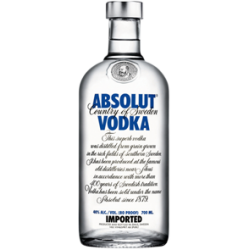 VODKA ABSOLUT 0,5 LITRE 40°