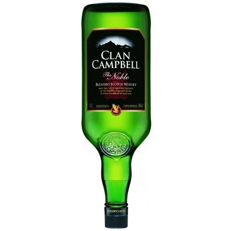 CLAN CAMPBELL 2 LITRES 40°