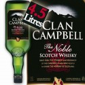 WHISKY CLAN CAMPBELL GALLON 4,5 L 40°