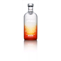 VODKA ABSOLUT APEACH 0.7L 40° VP