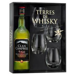 CLAN CAMPBELL Coffret whisky DE LA MAISON RICARD