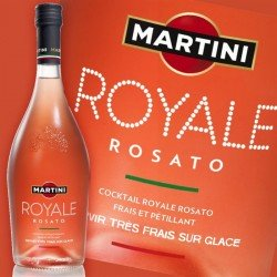 MARTINI ROYALE ROSATO COCKTAIL 75cl 8°
