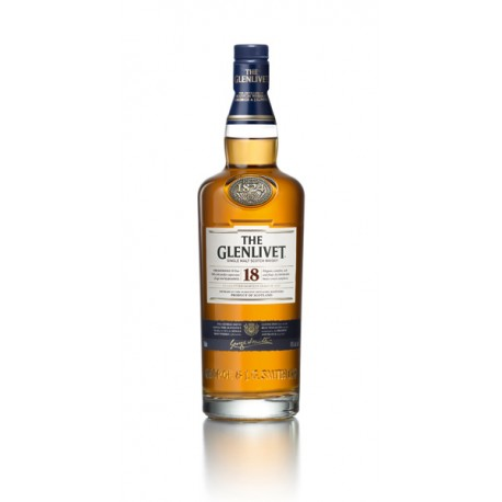 THE GLENLIVET whisky 18ans 70cl 43°