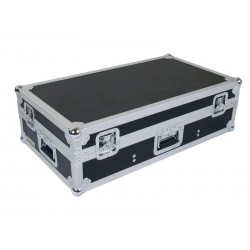 FLIGHT CASE REGIE TABLE DE MIXAGE 10'' & 2 LECTEURS CD A PLAT