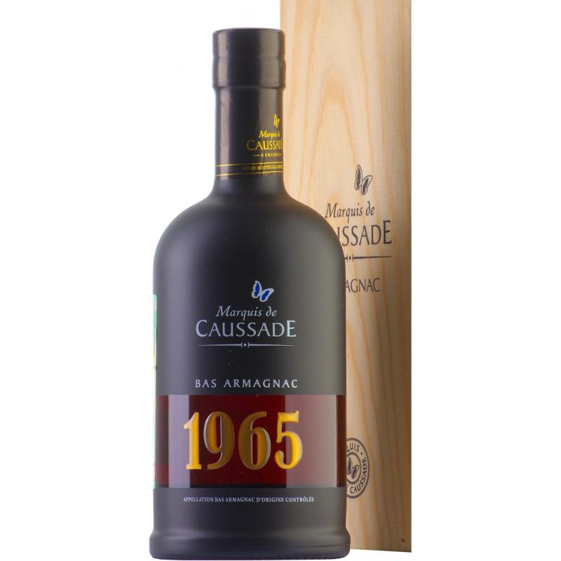 ARMAGNAC CAUSSADE 1965 BOUTEILLE 0,7 LITRE 40°