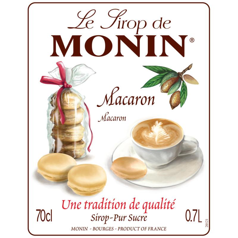 SIROP MONIN MACARON 70 cl