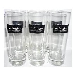 6 VERRES TUBO WILLIAMS LAUSON 22 CL SERIGRAPHIE