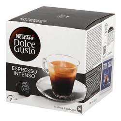 CAFE DOLCE GUSTO NESCAFE ESPRESSO INTENSO BOITE 16 CAPSULES - 128gr