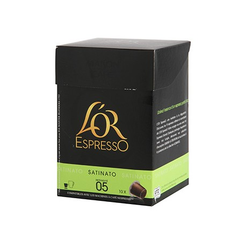 Café L'Or Espresso n°5 Satinato 10 caspules 52g