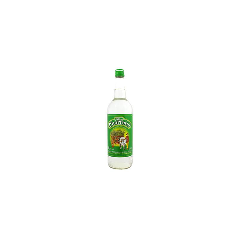 Rhum Charrette 49° bouteille 1 litre