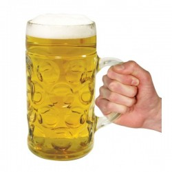 CARTON DE 6 CHOPES DE BIERE 1 LITRE