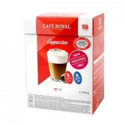 CAFE DOLCE GUSTO CAPPUCCINO CAFE ROYAL BOITE 16 CAPSULES - 170gr