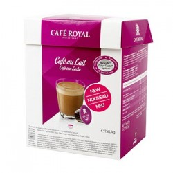 CAFE DOLCE GUSTO AU LAIT CAFE ROYAL BOITE 16 CAPSULES - 159gr