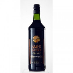 AMER BIERE ORANGE WOLFBERGER 15° 1 LITRE
