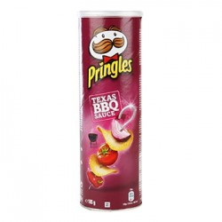 TUBE PRINGLES BARBECUE 165 grammes