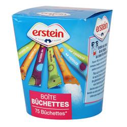 SUCRE BUCHETTES ERSTEIN 75 STICKS 5 Grammes