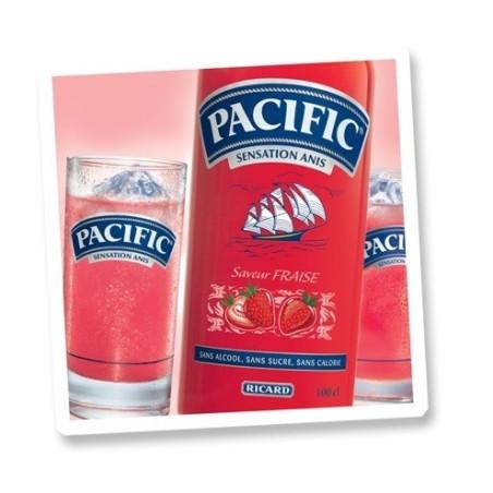 PACIFIC FRAISE 70cl SANS ALCOOL