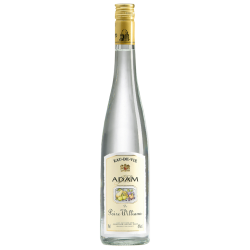 EAU DE VIE POIRE WILLIAM ADAM 45° 70CL